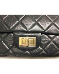 Bolso 2.55 de Cuero Chanel de color Black