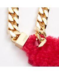 Fendi Pink Leather