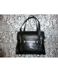Delvaux Black Leather Handbag