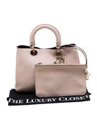 Dior Pink Issimo Leder Shopper