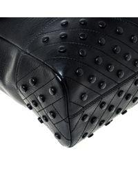 Sac en Cuir Noir Tod's pour homme en coloris Black