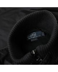 Maglione. Gilet in poliestere nero di Polo Ralph Lauren in Black