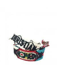 Dior Blue J'a Multicolour Cloth Bracelets