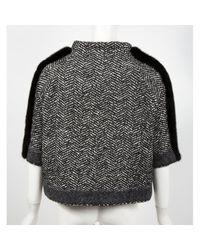 Pull.Gilets Noir Moncler en coloris Black