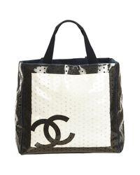 Chanel Black Shopper