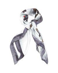 Lanvin Multicolor Silk Neckerchief