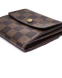 Marroquinería en lona marrón Louis Vuitton de color Brown