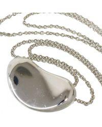 Tiffany & Co Metallic Elsa Peretti Silber Colliers
