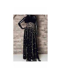 Dior Vintage Black Velvet Dress