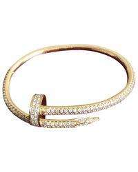 Cartier - Metallic Juste Un Clou Yellow Gold Bracelet - Lyst