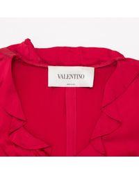 Robe en Viscose Rouge Valentino en coloris Red