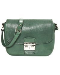 Miu Miu \n Green Leather Handbag
