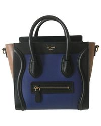 Céline - Black Nano Luggage Other Leather Handbag - Lyst