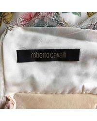 Abiti in seta bianco \N di Roberto Cavalli in White