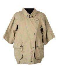 Isabel Marant - Natural Khaki Cotton Jacket - Lyst