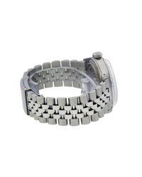 Rolex Datejust 36mm Uhren in Black für Herren