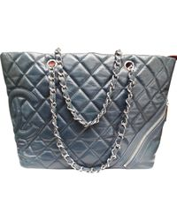 Chanel Multicolor Cambon Leder Handtaschen