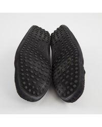 Tod's \n Black Suede Flats for men