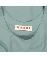 Mini robe Marni en coloris Blue
