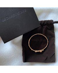 Michael Kors Metallic Gold Steel Bracelet