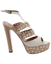 Alaïa Multicolor Leather Heels