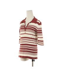 Chanel Red Top Baumwolle Rot