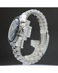 Orologio in acciaio argentato Speedmaster di Omega in Metallic da Uomo