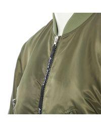 Vest en Synthétique Kaki Acne en coloris Green