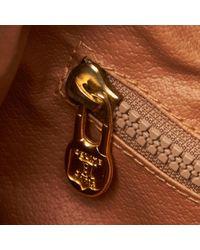 Bolsa de mano en plástico marrón Céline de color Brown