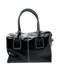 Tod's Black Lackleder Handtaschen