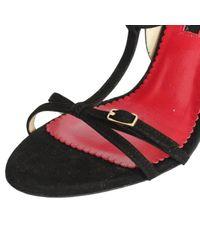 Sandali in pelle nero \N di Carolina Herrera in Black