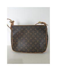 Bolsa de mano en lona marrón Hudson Louis Vuitton de color Brown