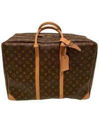 Borsa in tela marrone di Louis Vuitton in Brown da Uomo