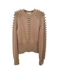 Chloé - Multicolor Pre-owned Wool Jumper - Lyst