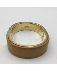 Loewe Metallic Gold Steel Bracelet