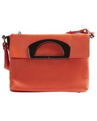 Christian Louboutin - Orange Pre-owned Leather Handbag - Lyst