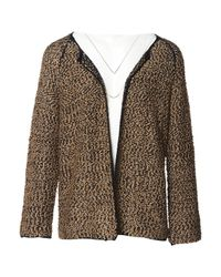 Dries Van Noten Brown Viscose Knitwear