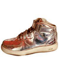 Nike Metallic Leder Sneakers