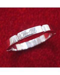 Cartier Metallic Maillon Panthère Weißgold Ringe