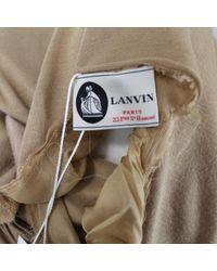 Abiti in viscosa cammello di Lanvin in Multicolor