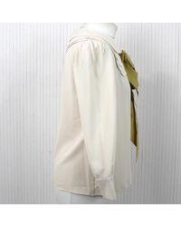 Chloé Multicolor Seide Hemd