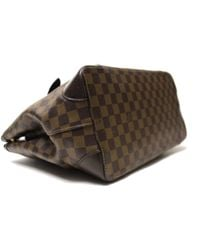 Bolsa de mano en lona marrón Hampstead Louis Vuitton de color Brown