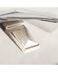 Alexander Wang Metallic Silver Leather Handbag