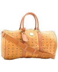 MCM Brown Leder Reisetaschen