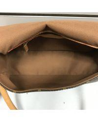 Louis Vuitton Brown Looping Leinen Handtaschen