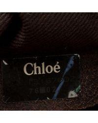 Chloé Metallic Paddington Leder Shopper