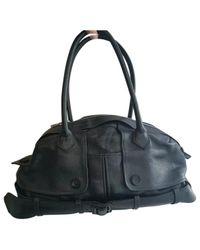 Borsa a mano in pelle nero di Jean Paul Gaultier in Black