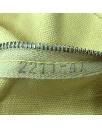 Hermès Brown Leinen Handtaschen