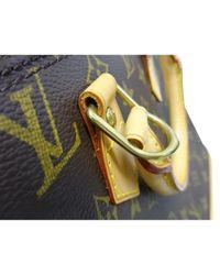 Bolsa de mano en lona marrón Alma Louis Vuitton de color Brown