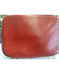 Louis Vuitton Red Noé Leinen Handtaschen